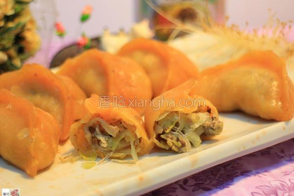 素香椿蒸饺的做法