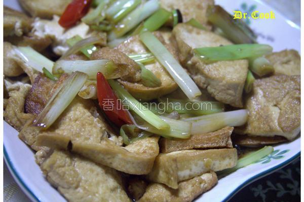葱烧板豆腐的做法