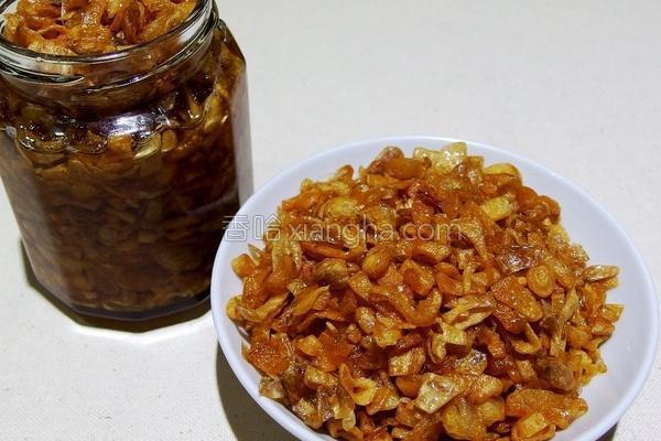 自制油葱酥的做法