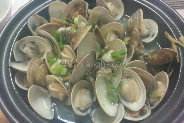 蒸蛤蛎的做法