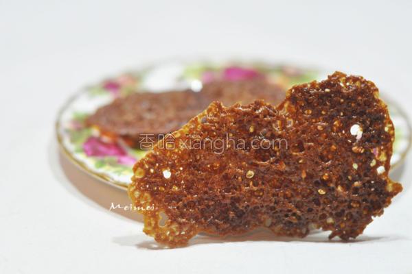 黑糖姜蕾丝花的做法