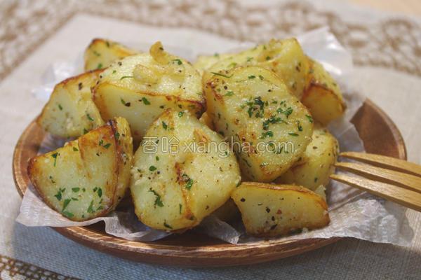 蒜香起司马铃薯的做法