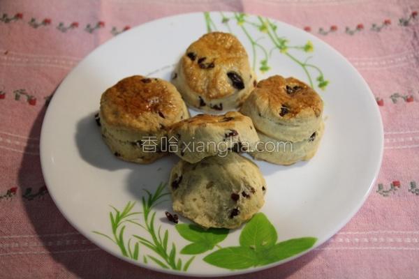 莓果松饼的做法