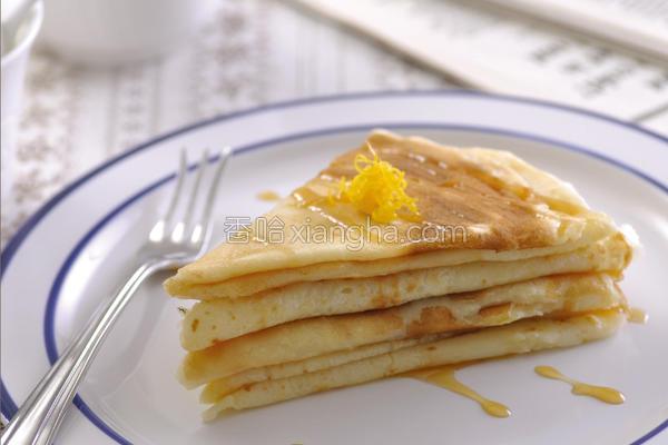 法式柳橙薄饼的做法