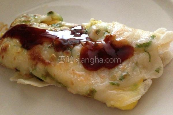 传统手工葱蛋饼的做法