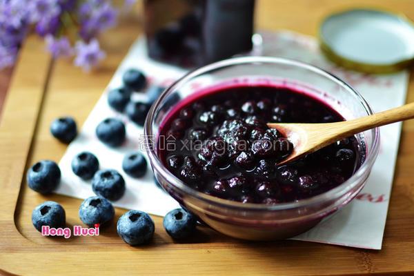 手作蓝莓果酱的做法