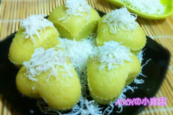 班兰椰丝小蛋糕的做法