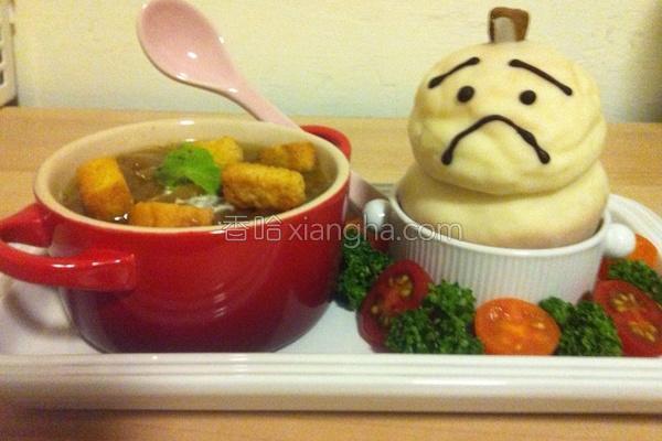 洋葱汤的做法