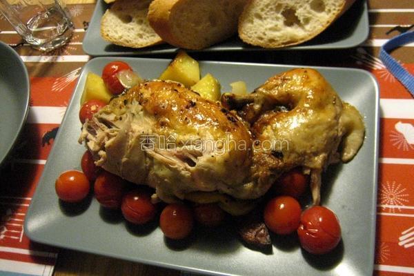 德国香菇鸡的做法