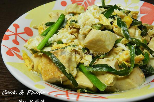 蛋淋豆腐的做法