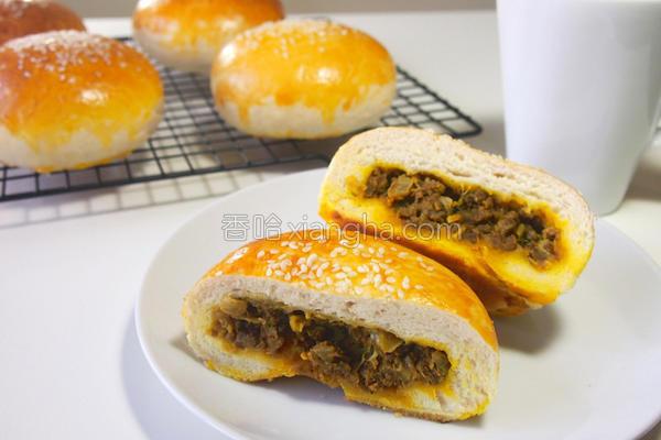 台式咖哩肉馅面包的做法