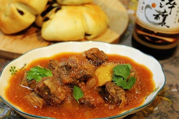 番茄起司牛肉汤的做法