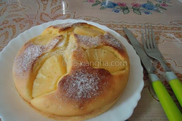 凤梨蛋糕的做法