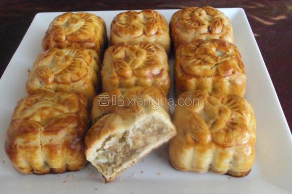 台式养生月饼的做法