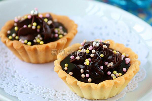 迷你巧克力挞的做法