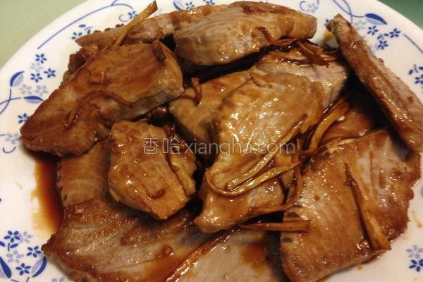 酱烧鲔鱼的做法