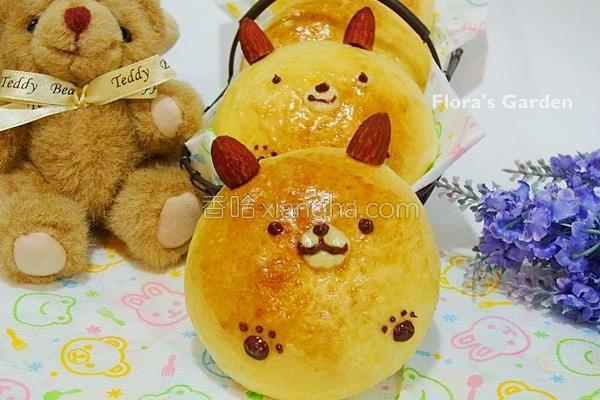 玉米布丁面包的做法