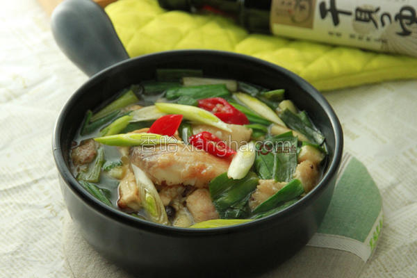 鱼片豆腐锅的做法
