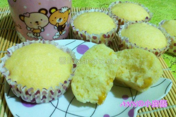 玉米杯子蛋糕的做法