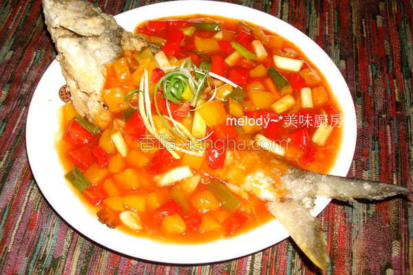 茄汁午仔鱼的做法