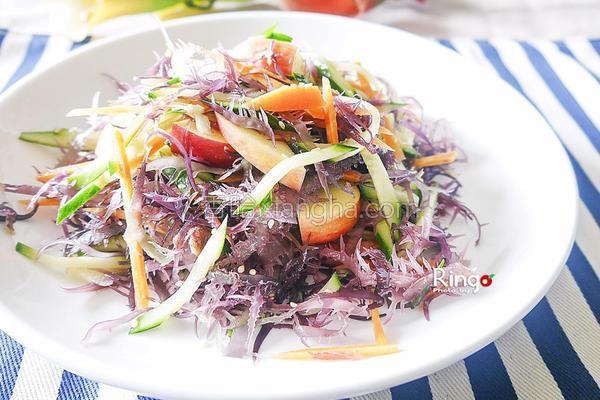 风凉拌紫晶蔬果的做法