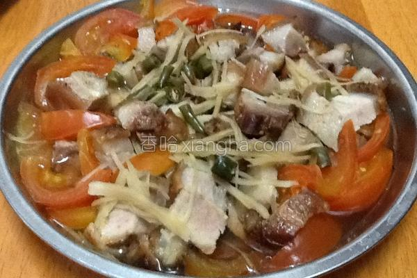 烧肉煮番茄的做法