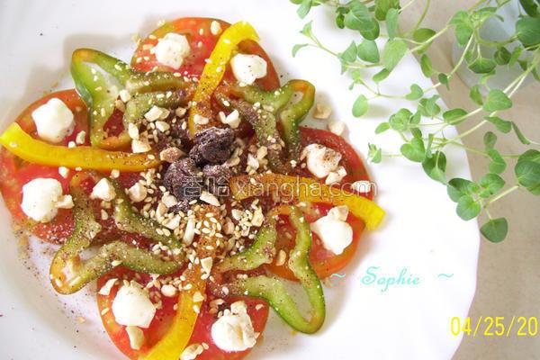 梅香蔬果沙拉的做法