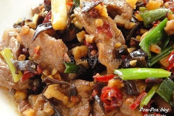 椒麻牛肉的做法
