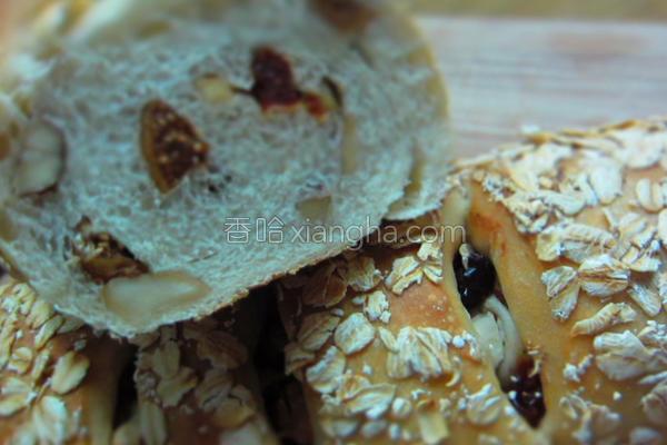 干果面包条的做法