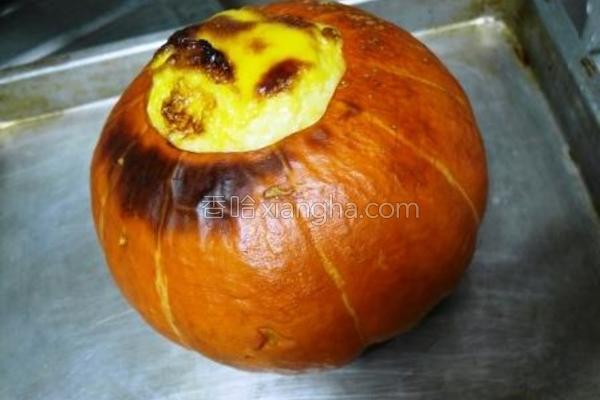南瓜炖蛋的做法