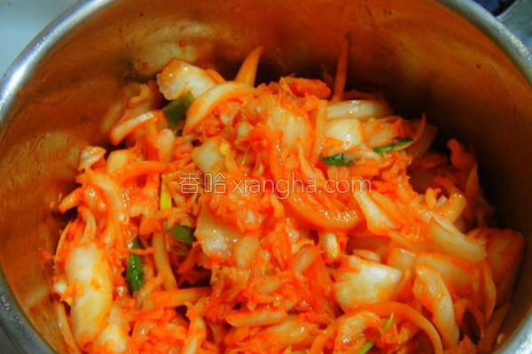 清爽韩式泡菜的做法