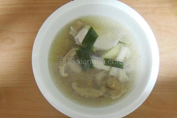 苹果红枣鱼饺汤的做法
