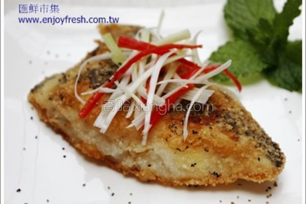 海鲜料理煎比目鱼的做法