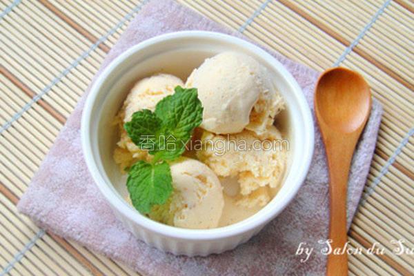 手工香草冰淇淋的做法