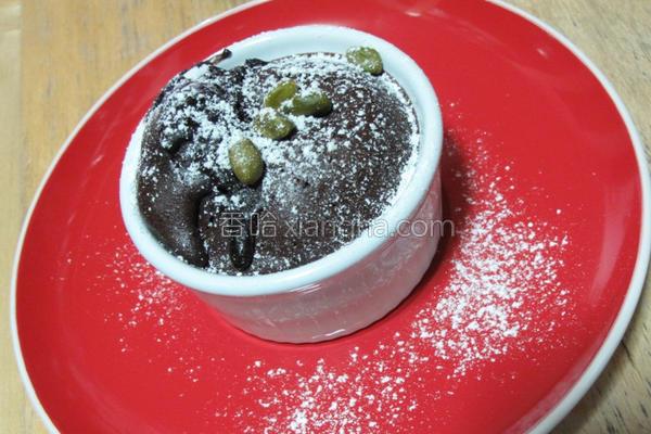 2分钟巧克力蛋糕的做法