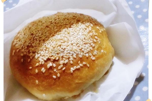 炭烤香福州胡椒饼的做法
