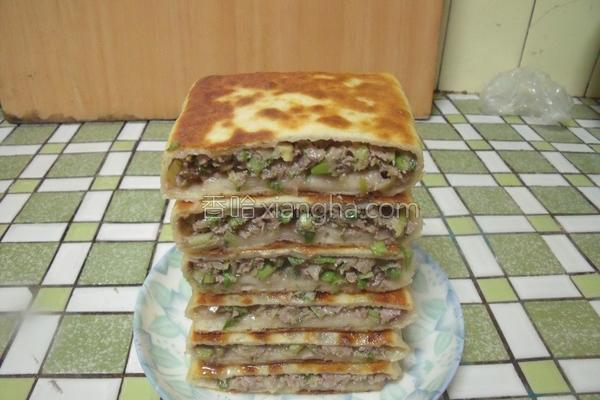 香酥肉饼的做法