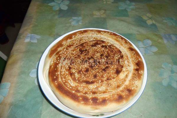 肉松大饼的做法