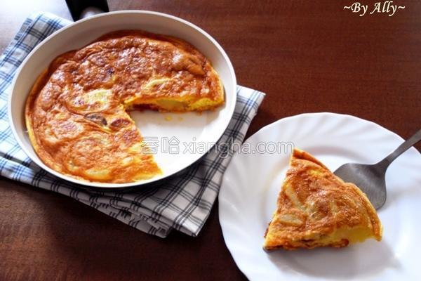西班牙蛋饼的做法