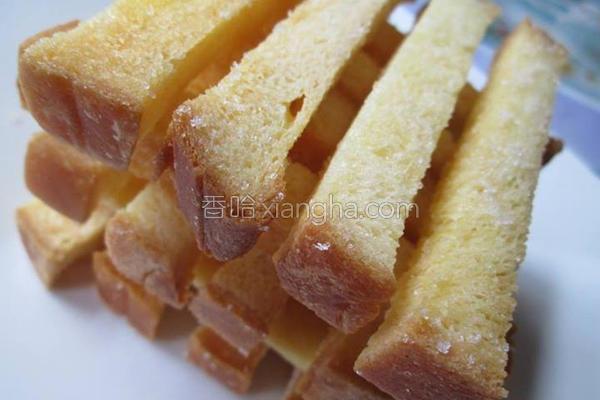 奶油酥条的做法