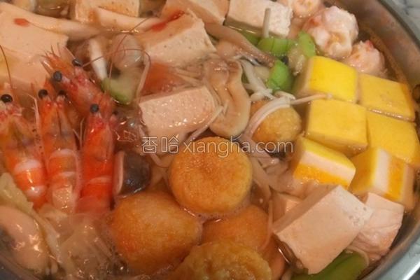 日式海带火锅的做法