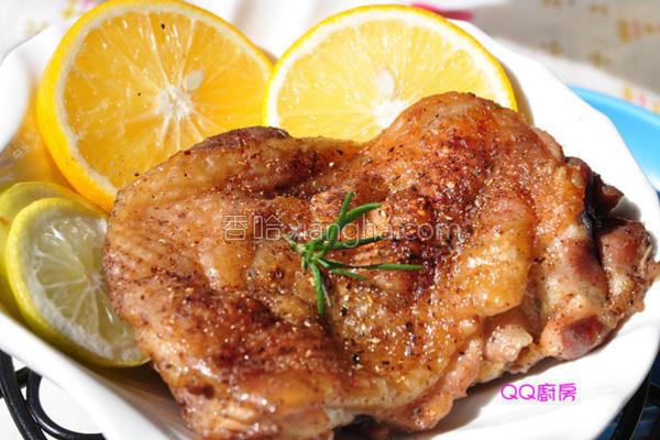 香柠盐焗烤鸡腿排的做法