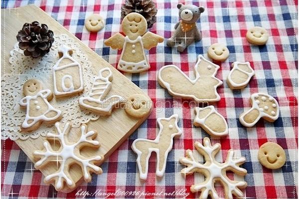 圣诞风糖霜饼干的做法
