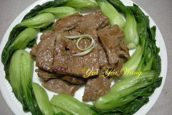 煎猪肉排的做法