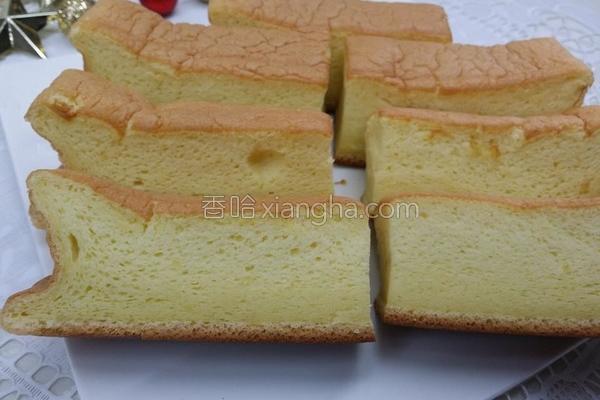 棉花蛋糕的做法