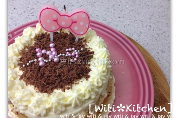 鲜奶油松饼蛋糕的做法