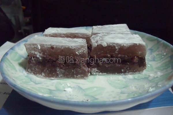 莲藕凉糕的做法