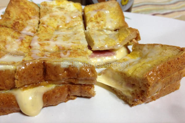 法式火腿乳酪土司的做法