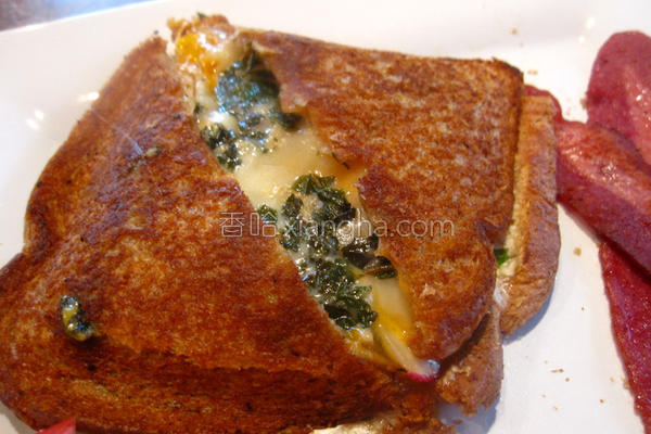 烤起司三明治的做法