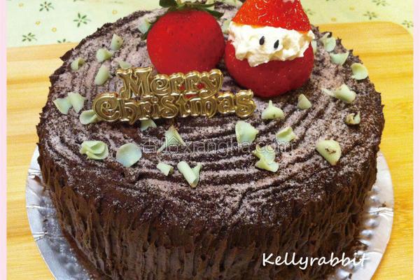 草莓老公公蛋糕的做法
